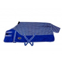 Regendeken Dextro China Blue Checker 1680D (fleece voering)