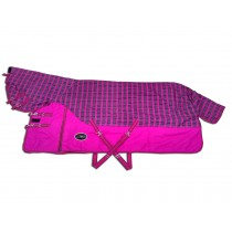 Winterdeken Nemax Pink Checks 1200D (400 grams)