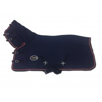 Shetlander Zweetdeken Soft Shell Fleece NAVY (vaste hals)