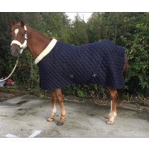 Show Rug / Transport Rug / Stable Rug NAVY (200 gram)