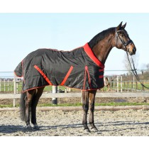 Staldeken Red Olympic met fleece kraag (300 gram)