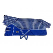 Regendeken Ranger China Blue Checker 1680D (afneembare hals)